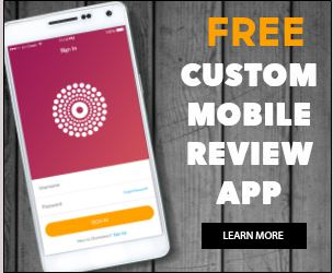free custom mobile review app